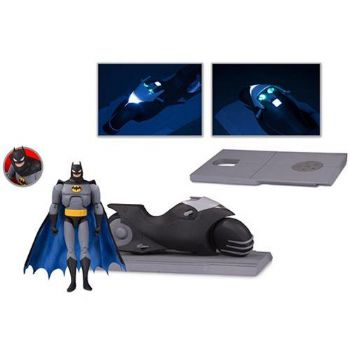Batman: The Animated Series Batcycle and Batman Action Figure Set